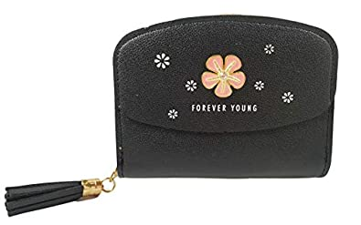Surbhi Women's Wallets for Girls   Credit Card Holder   Coin Purse Zipper Small Secure Card Case/Gift   Zipper with Tassel Detailing   Cute Wallets Trending Wallet for Women and Girls