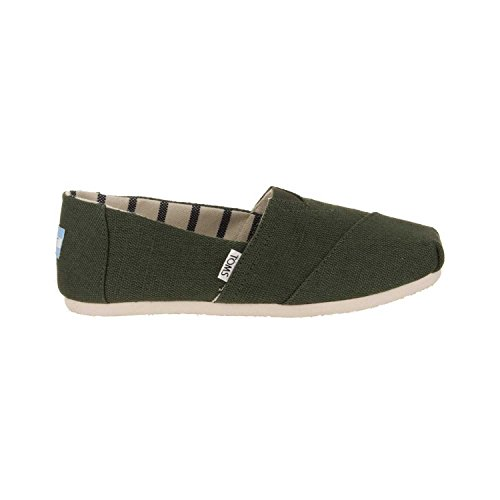 TOMS Women's Pine Heritage Canvas 10011668 (Size: - Green Color Pine