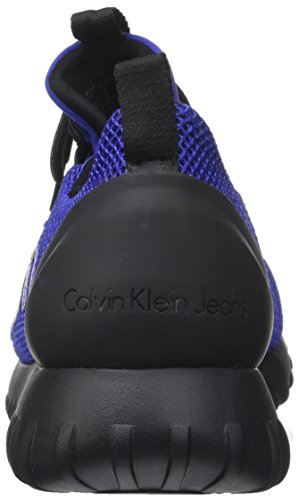Mesh Ron Brushed Hombre Silver Metal Varios Colores Grey Klein Calvin blue para Zapatillas 5EqRpqg