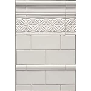 handmade look subway tile white 4x8 artisan handmade look subway tile undulated 4378