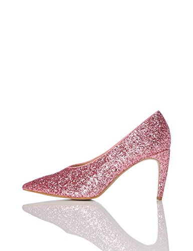 pink Donna Find Rosa Glitterate Décolleté waqxBg0I