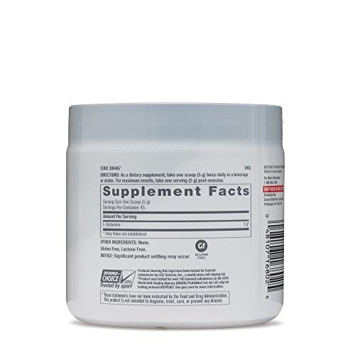 GNC Pro Performance L Glutamine 5000mg 225 g