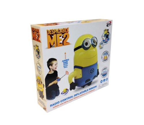 Despicable Me Minion Hinchable Radio Control Enorme: Amazon ...