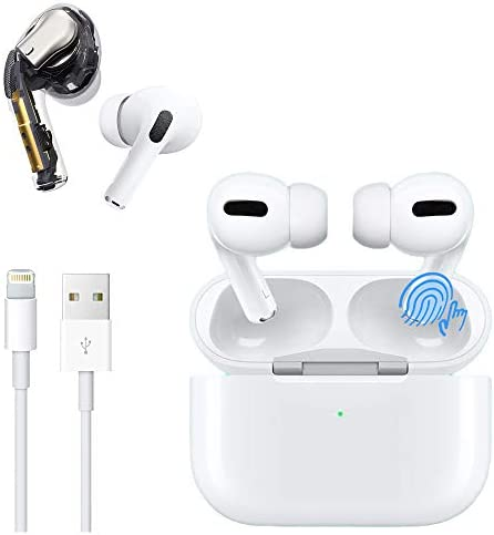 Wireless Earbuds Bluetooth Headphones with Charging Case IPX5 Waterproof Sports Headphones with Built-in Mic, Touch Control Bluetooth Earbuds Suitable for Airpods Pro/Android/Airpods