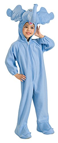 UHC Dr. Seuss Horton Hears A Who Elephant Dress Toddler Kids Halloween Costume, 2T-4T -
