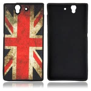 Plastic Protective Case for Sony L36H UK Flag