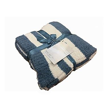 BarefootDreams Cozychic Baja Blanket- Dusk