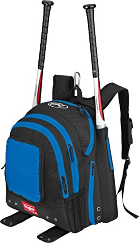Rawlings Player Backpack-Blue (Players Bat Packs)