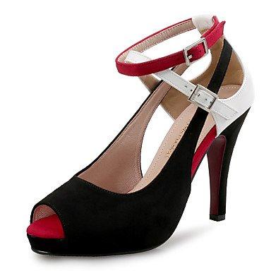 pwne Zapatos De Tacones De Mujer Club De Terciopelo De Microfibra Boda Vestido De Noche &Amp; Stiletto Talón Conjunta Dividida US8 / EU39 / UK6 / CN39