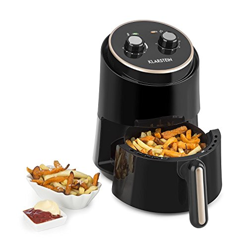 Klarstein Well Air Fry – Freidora, Freidora de aire caliente, Freír sin grasa, Hornear, Cocinar, Asar, 1230 W, 1,5…