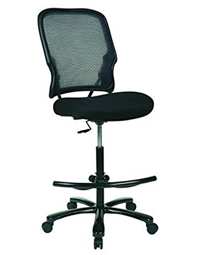 space-seating-big-and-tall-dual-layer-airgrid-black-back-with-mesh-seat-adjustable-footring-and-gunm