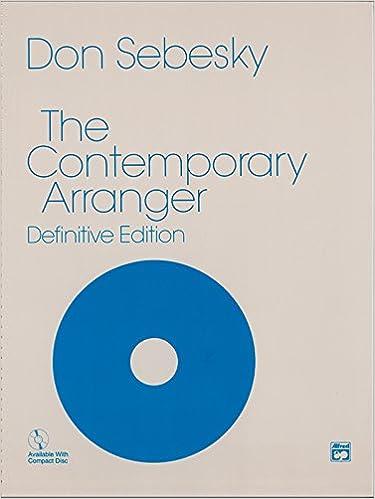 Don Sebesky - The Contemporary Arranger: Book & Cd