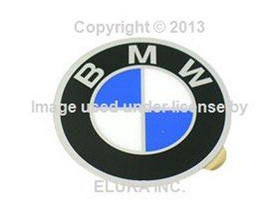 (4 X BMW Genuine Emblem - Wheel Center Cap (57 mm Diameter) for 528i 530i 733i 735i 630CSi 633CSi 635CSi 524td 2500 2800 2800Bav 3.0S 3.0SBav 3.0Si 3.0CS)
