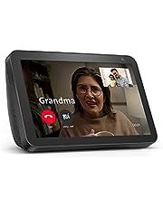 "Echo Show 8 – HD 8"" smart display with Alexa – Charcoal"