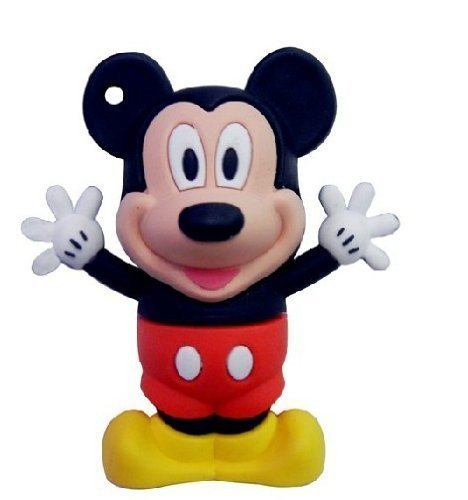 (8 GB Mickey Mouse style USB flash drive)