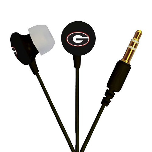 Georgia Bulldogs Headphone (NCAA Georgia Bulldogs Ignition Earbuds,)