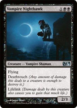 Magic: the Gathering - Vampire Nighthawk (112) - Magic 2013