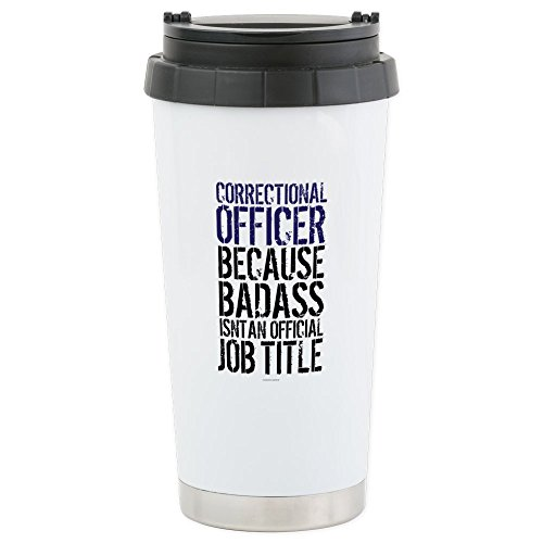 CafePress - Correctional Officer Ba - Stainless Steel Travel Mug, Insulated 16 oz. Coffee Tumbler