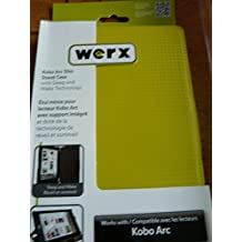 kobo arc slim stand case yellow