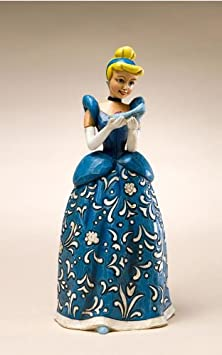 Enesco Disney Traditions Designed by Jim Shore Cinderella Sonata Figurine 6.25 in
