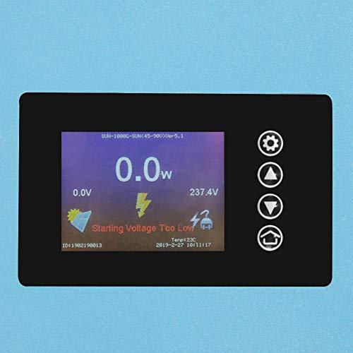 Solar Wechselrichter, 1000W/2000W Solar Power Grid Tie Wechselrichter mit Limiter 110/220V(1000W45-90VDC-ohne WIFI)