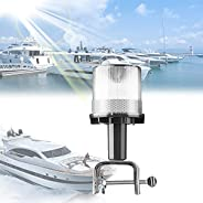 Solar Energy Anchor LED Navigation Light for Boat Lights Bow and Stern, All Round Navigation Anchor Light with