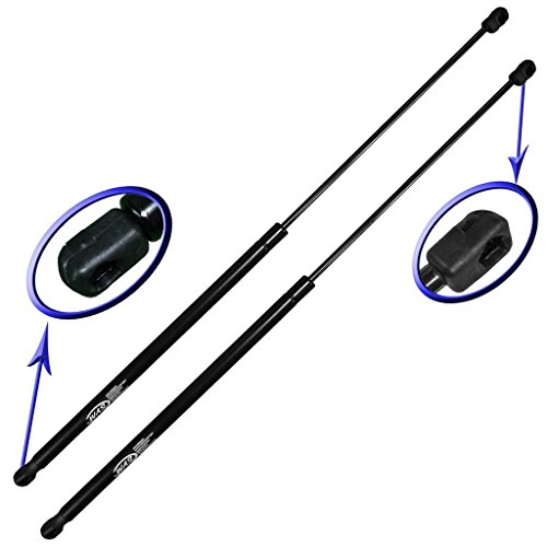Two Rear Glass Gas Charged Back Window Lift Supports For 2007-2010 Jeep Wrangler With Factory Hardtop. Left and Right Side. WGS-359-2 (Jeep Jk 2 Lift)
