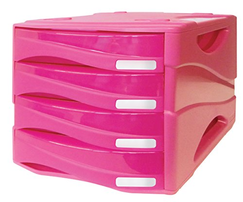 Arda tr15p4parcfu Chest of Drawers, Fuchsia