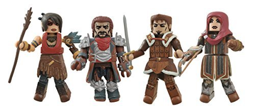 Diamond Select Toys Dragon Age Minimates Series 1 Box Set by Diamond Select