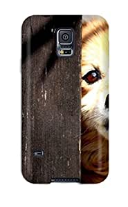 Sad Puppy Behind The Fence Case Compatible With Galaxy S5/ Hot Protection Case