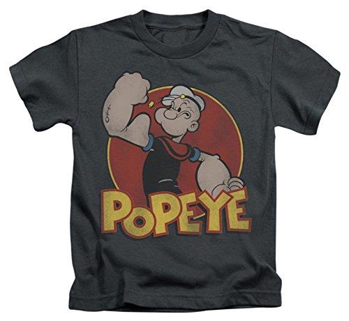 Youth: Popeye-Retro Ring Kids T-Shirt Size YM (Baby Popeye)