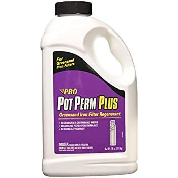 Pot Perm Plus Potassium Permanganate Greensand Iron Filter