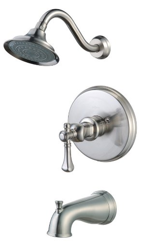 Pegasus 873-5104 Verdanza Single-Handle Pressure Balance Tub/Shower ...