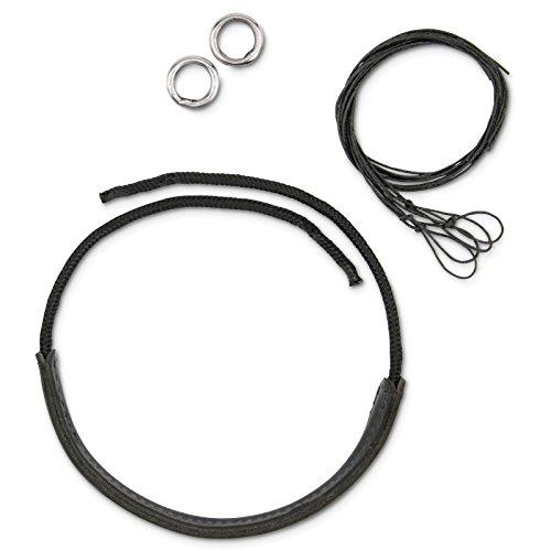 Myler Leather Noseband Kit for 5 1/2-Inch Combo Bit ()