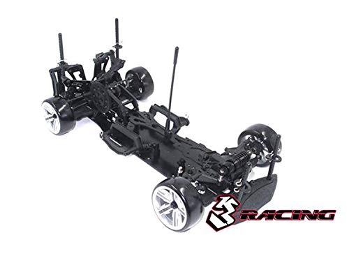 - 3Racing RC Model KIT-D4ARWDS/BK 3RACING Sakura D4 1/10 Drift Car (RWD - Sport Black Edition) - Pre-Assembled