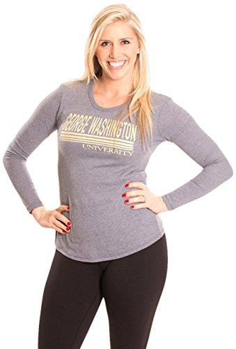 NCAA George Washington Colonials Women's Long Sleeve T-Shirt, Small, Navy