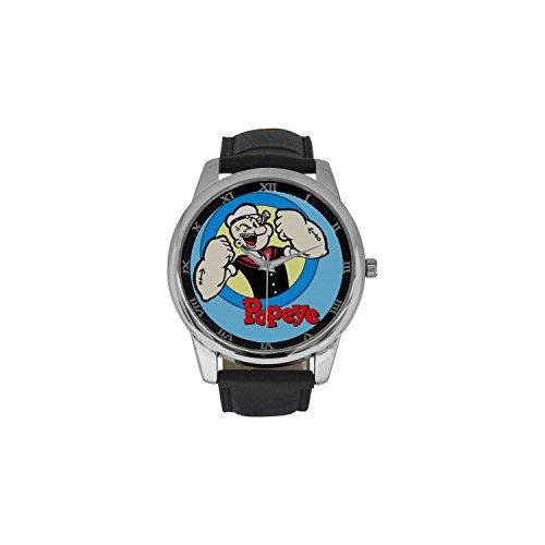 popeye-dbln2204-men-wrist-watches-leather-strap-large-dial-watch