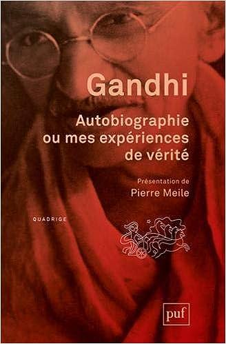 Amazon Fr Autobiographie Ou Mes Experiences De Verite