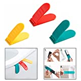 OFKP Toilet Seat Lifter Toilet Cover Portable Lift Handle Bathroom Avoid Touching Self Adhesive Hygiene 3 Packs