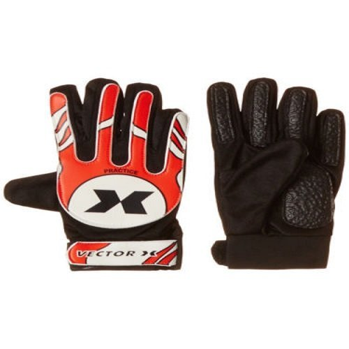 Vector X Practice Goalkeeping Gloves  Red, White, Black