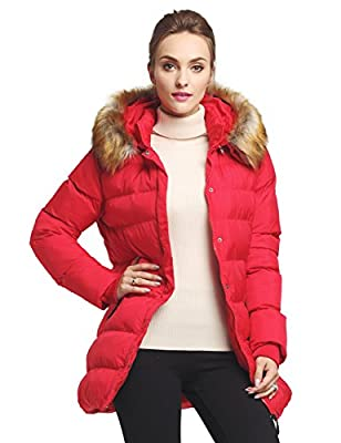 WenVen Women's Thickened Down Jacket