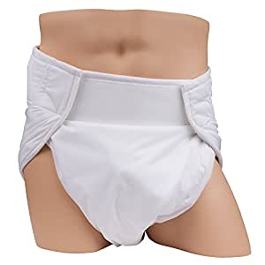 Leakmaster Adult Sized Contoured All In One Cloth Diapers - Medium