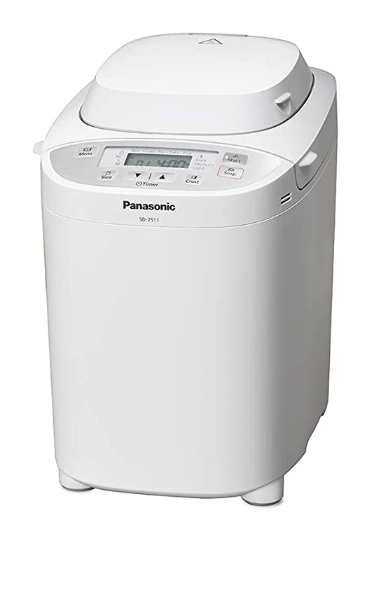 Amazon.com: Panasonic SD-2511 W multifunción pan Maker ...