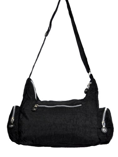 Shoulder Bag and Cross Body Bag Handbag Nylon in Black