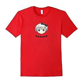 #Anime T-shirt Cute Manga Anime Girl T-shirt