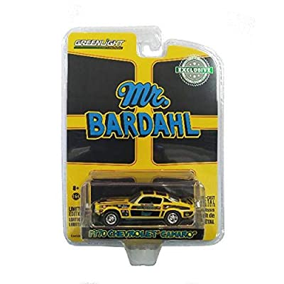 1970 Chevrolet Camaro Mr. Bardahl Hobby Exclusive 1/64 Diecast Model Car by Greenlight 29989: Toys & Games