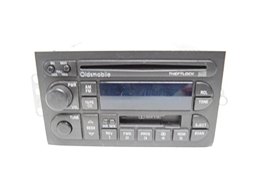 Achieva 96 97 98 Car (96 97 98 99 00 OLDSMOBILE BRAVADA CUTLASS ACHIEVA RADIO CD PLAYER)