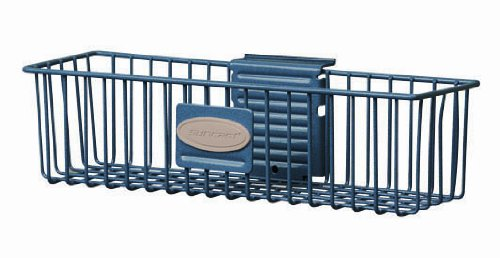 Suncast MB0311 Wire Basket 3x11 Inch, Blue