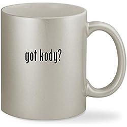 got kody? - 11oz Silver Sturdy Ceramic Coffee Cup Mug