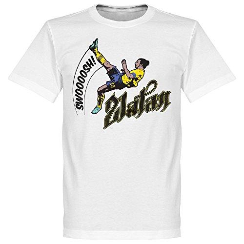 T-shirt Zlatan Ibrahimovic (Blanc)
